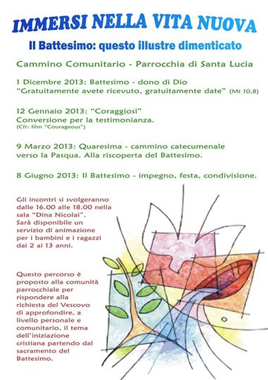 Percorso Comunitario 2013-2014